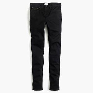 J. Crew black toothpick jeans 25